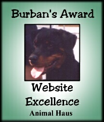 Thank you Burban for Your award of website excellence